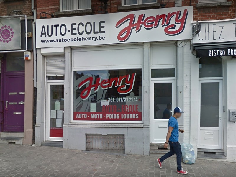Auto-école Henry Charleroi